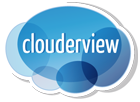 Logotipo Clouderview